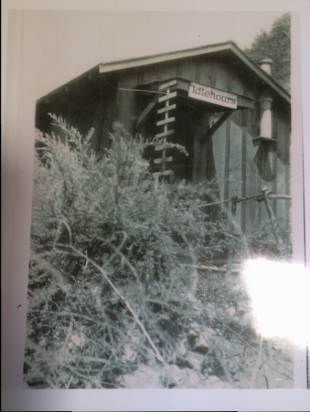 A former brothel in Canyon Acres. Photo courtesy of Valerie Milan.