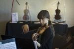 Violinist Elicia Silverstein
