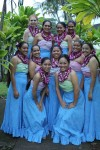 High School Students Learn Hula