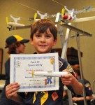 Scouts Engineer Rockets for Space Derby