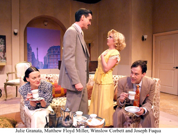 """Private Lives,"" by Noel Coward at Laguna Playhouse, 606 Laguna Canyon Road. Call for performances 949-497-2787 Tickets $35-65. Through April 10."