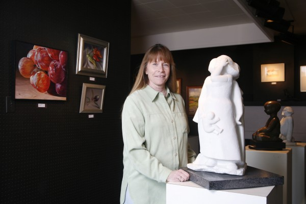 Charlie Ferrazi will close Esther Wells Gallery at month's end. The landlord hopes for another gallery tenant.