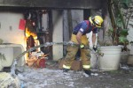 Firefighters Douse Blaze They Also Discover