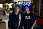 Wyland and Nick I Sing Blues for Ocean