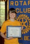 Laguna Rotary honors Caroline Rechter