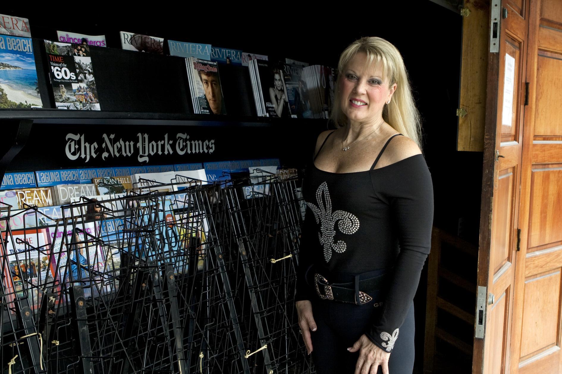 Heidi Miller, a downtown business owner, believes the foot patrol is helping deter shoplifting.