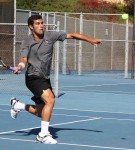 Tennis Newcomer Returns to the Net