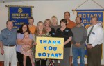 Rotary's Outreach Aids Flood Victims