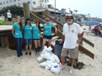 Coastal Cleanup Empowers Young Women