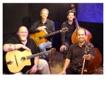Club Django reinterprets music by Django Reinhardt in an outdoor concert.