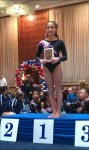 Gymnast Vaults to First