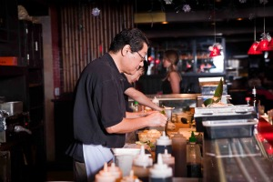 Chef Toshi Chung once worked the sushi bar in the long moribund Mosun restaurant.