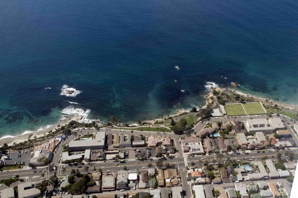 A view of Heisler Park, where marine protections are already in affect. Tighter marine regulations that were to take affect Oct. 1 were postponed.