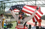 Lewis Clinches Italia Rookie Championship