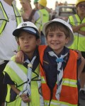 Cub Scouts Learn Recycling Firsthand