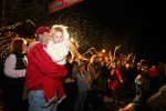 Crowds Converge in Laguna for Santa and Football