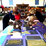 Students Recreate Medieval Art