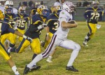 Game leading rusher Drake Martinez ran for 191 yards on 17 carries in Friday's game against Anaheim's Colonists. Photo by Doug Landrum
