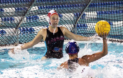 Waterpolo goalie Eddy Manetta was instrumental in leading team to CIF finals, where they took the best team in the country to sudden death before losing a heartbreaker.