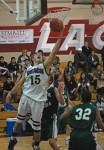 Jake Dalke's 15 points helped Laguna take sole possession of first place in the Orange Coast league.