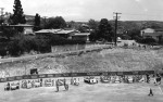 Riddle Field's dedication in 1963.  Photo courtesy Laguna Historical Society