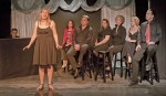 No Square Theater's songbook at Legion Hall March 16 and 17. Photo by Mitch Ridder