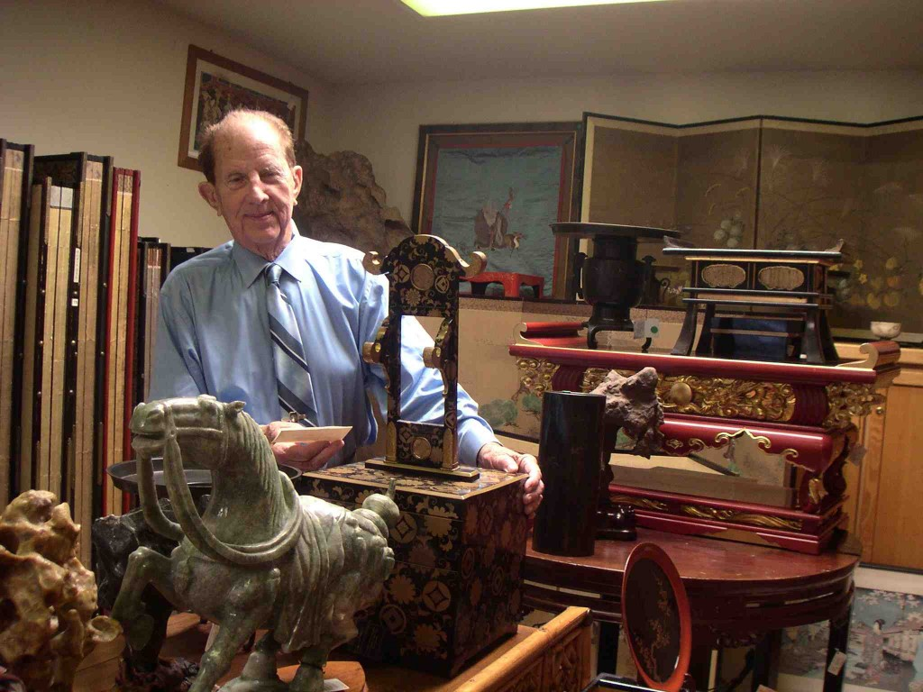 Warren Imports' owner Harry Lawrence in 2006, shortly before he retired and closed the store.