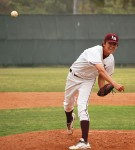Junior Jackson Rees pitched a four-hit shutout of Estancia last Friday at Skipper Carrillo Field.