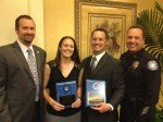 Laguna Officers Honored by Survivors Group