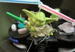 "Master Yoda, a ""Starwars"" action figure, symbolizes the brain as the master of the body for one project."