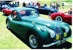 Jag Goes for a Spin in Car Show
