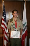 Zane Cornwell earns Boy Scouts' Highest Rank