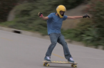 Steep Skyline Drive has long been a favorite run of skateboarders, but now joins the list of banned streets. .