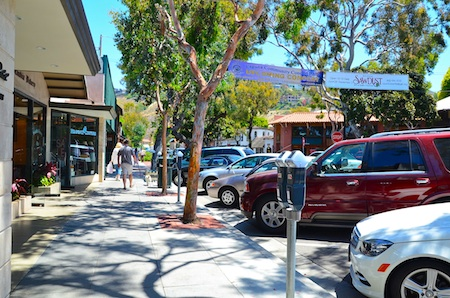 Laguna Beach OKs Temporary Outdoor Dining, Forest Avenue Promenade - Laguna Beach Local News