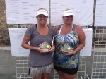 Locals Rule in Doubles