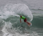 Sammy Stinnett, now two-time winner of the World Championship of Skimboarding.