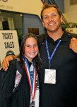Middle School Diver Competes, Medals