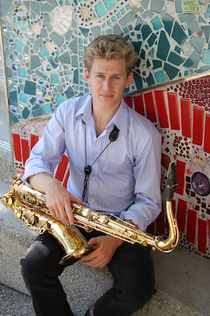 Saxophonist Dan Reckard, who performs on keyboard this Friday, Dec. 20, at Laguna Presbyterian Church.