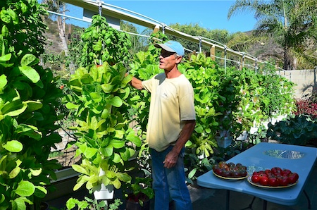 Alegria Farms' founder Erik Cutter.