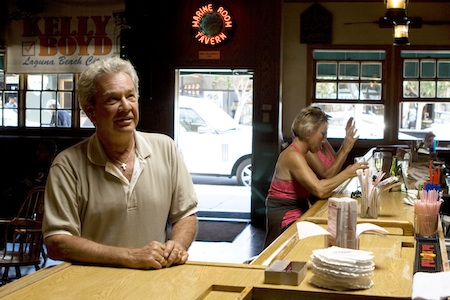 Marine Room Tavern owner and council member Kelly Boyd is recovering after illness that kept him from his official duties for several weeks.