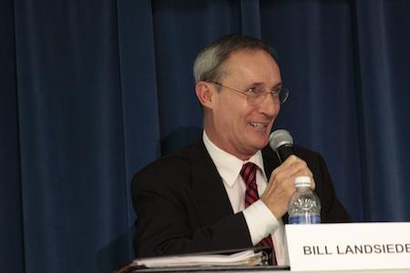 Incumbent Bill Landsiedel