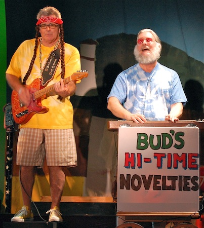 """Patrick """"Guitar Floyd"""" Casey and Patrick Quilter mourn the city's refusal in 2010 to allow a pot dispensary in """"Little Grass Shack."""""""