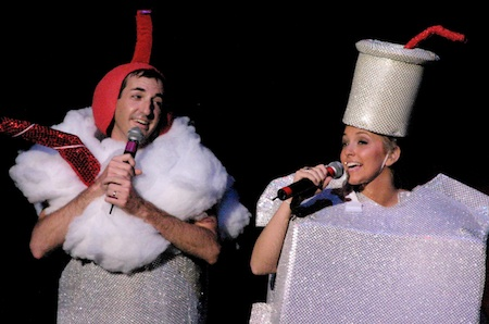 "Paul Sigmund and Kelly Hancock in ""The Last Night of the Foam,"" about 2007's citywide styrofoam ban."