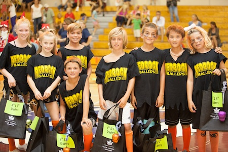 The Bedrock Ballers seized the 4th-5th grade championship.