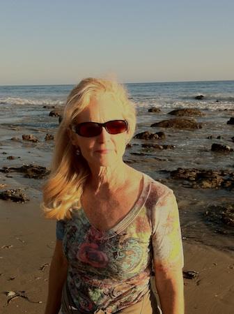 2 guest col Judy at Beach