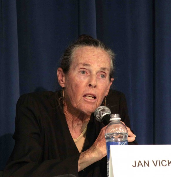 Jan Vickers, board president expressed the importance of listening to the student body.