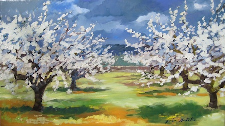 "Bertran's ""Cherry Blossoms Before The Rain"""