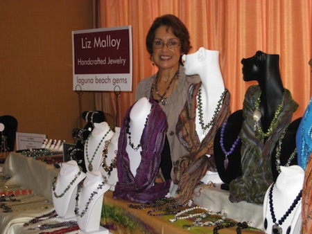 The Woman's Club artist event owes its inspiration to jewelry maker Liz Malloy.