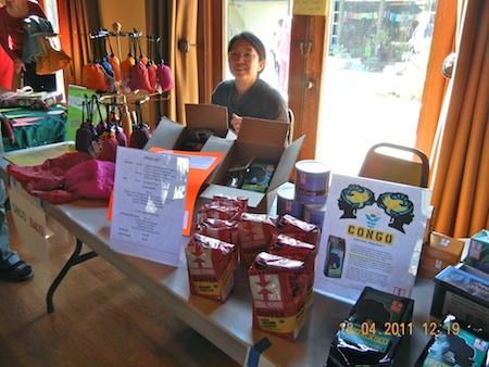 One of the vendors from last year's alternative market.