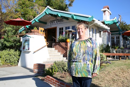 Cottage Restaurant co-owner Julie McCulley.